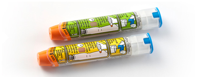 Epi-Pen Adult and Epi_pen Jr.